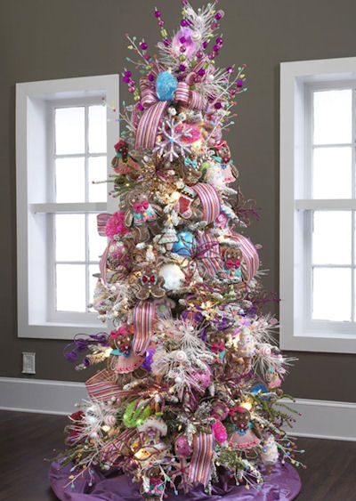 Candyland Christmas Tree Theme