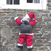 Santa Claus themed Outdoor Christmas Decorations