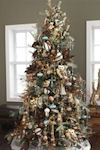 Rustic Christmas Tree Theme