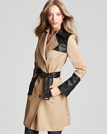 Cynthia Steffe Trench Coat - 2013 Trends