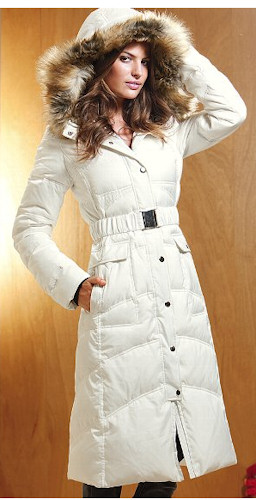 Victoria's Secret Long Puffer Coat - 2013 Trends