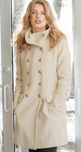 Victoria's Secret military coat 2013 Trends