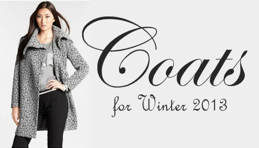 Winter 2013 Coats Trends