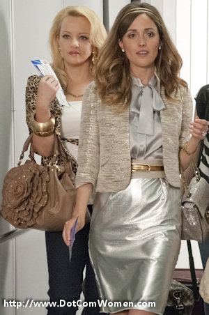 Rose Byrne and Wendi McLendon-Covey in Bridesmaids