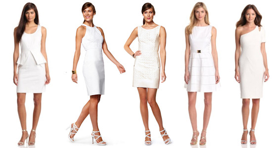 White Dresses Summer 2013 Trends